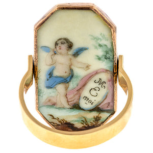 Georgian Love Token Ring