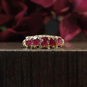 Victorian ruby five stone band ring Doyle & Doyle 107647R.jpg