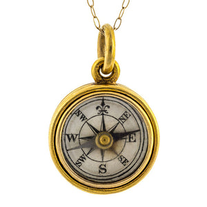 Victorian Compass Locket