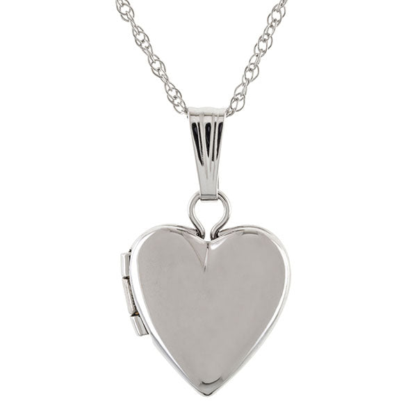 Heart Locket Necklace from Doyle & Doyle