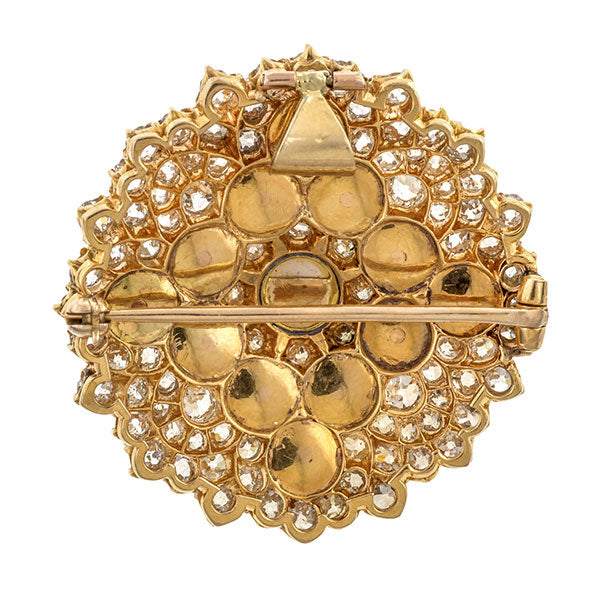 Antique Pearl & Diamond Brooch