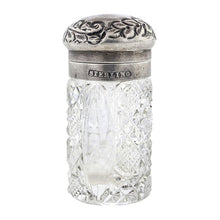 Glass & Silver Perfume Bottle