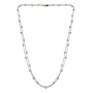 Antique Old European Diamond Necklace