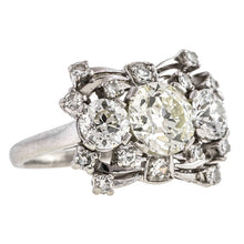 Vintage Engagement Ring, Old European 1.60ct., sold by Doyle & Doyle an antique and vintage jewelry store.