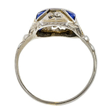 Art Deco Engagement Ring, Old European Diamond 0.50ct., sold by Doyle & Doyle a vintage and antique jewelry store.