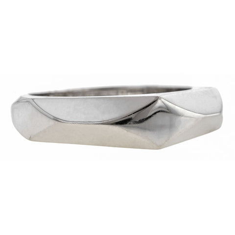 Estate Fred Faceted Ring