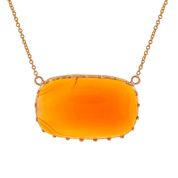 Georgian Carnelian Necklace