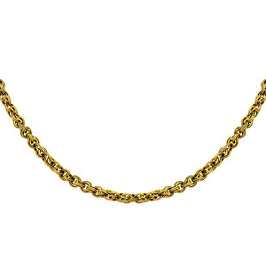 Victorian necklace: a Yellow Gold Fancy Link Chain sold by Doyle & Doyle vintage and antique jewelry boutique.