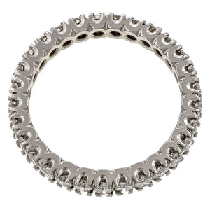 Vintage Diamond Eternity Band Ring sold by Doyle & Doyle vintage and antique jewelry boutique.