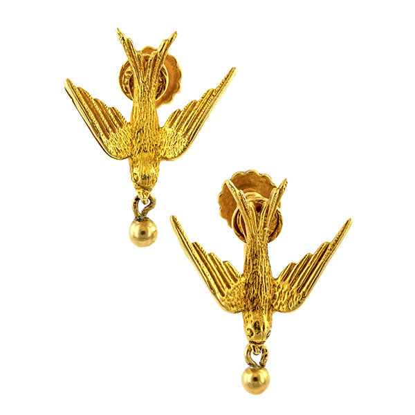 Vintage Saint Esprit Earrings sold by Doyle & Doyle vintage and antique jewelry boutique.