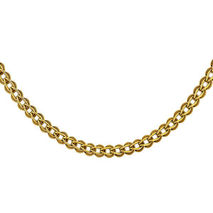 Vintage Loop in Loop Chain Link Necklace sold by Doyle & Doyle vintage and antique jewelry boutique.