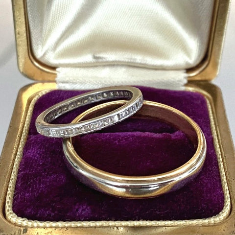 Vintage Wedding Band Ring, Size 12 1/4 from Doyle & Doyle