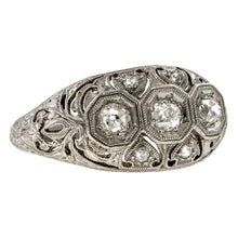 Art Deco Diamond Ring, 0.43ctw. sold by Doyle & Doyle vintage and antique jewelry boutique.