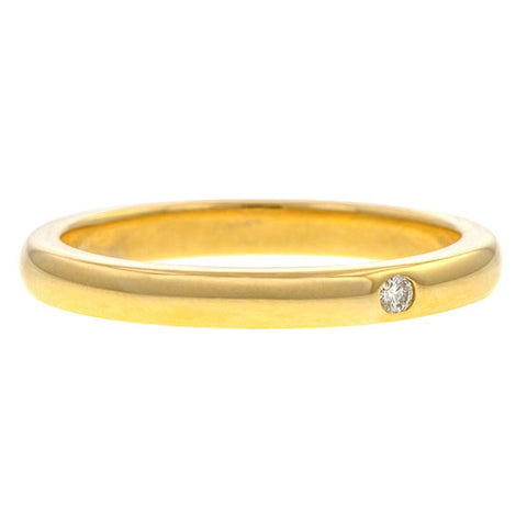 Vintage Tiffany & Co Diamond Wedding Ring sold by Doyle & Doyle vintage and antique jewelry boutique.