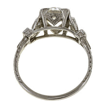 Vintage Engagement Ring, Old Euro 1.86ct. sold by Doyle & Doyle vintage and antique jewelry boutique.