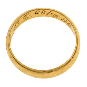 Antique Gold Band sold by Doyle & Doyle vintage and antique jewelry boutique.