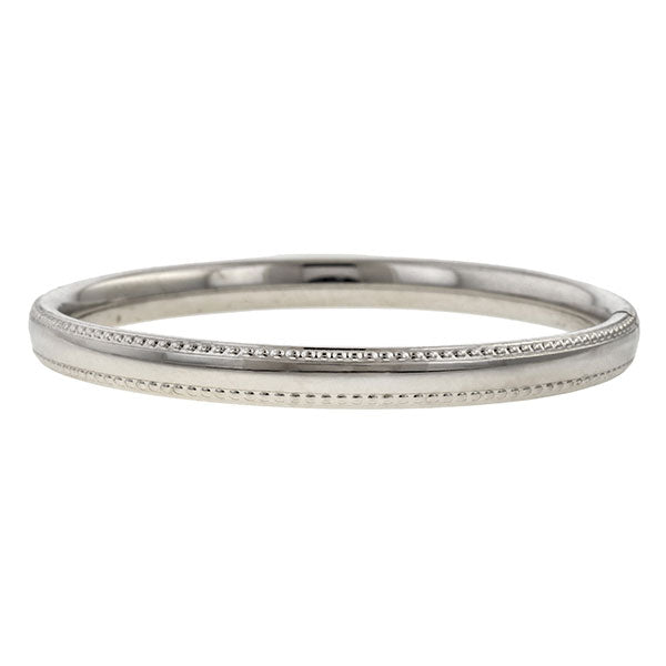 Vintage Silver Baby Bangle Bracelet sold by Doyle and Doyle an antique and vintage jewelry boutique.