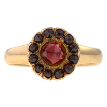 Vintage Garnet Ring sold by Doyle & Doyle and antique & vintage jewelry boutique.