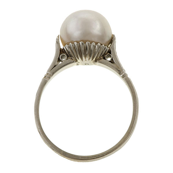 Antique Pearl Ring sold by Doyle & Doyle an antique & vintage jewelry boutique.