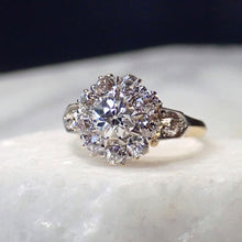 Victorian Diamond Cluster Ring Old European Cut .55ct from doyle and doyle 110544R