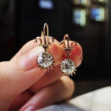 Antique Diamond Drop Earrings, 2.05ctw. sold by Doyle & Doyle an antique & vintage jewelry boutique.