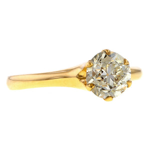 Vintage Engagement Ring, Circular Brilliant 1.13ct. sold by Doyle & Doyle an antique and vintage boutique.