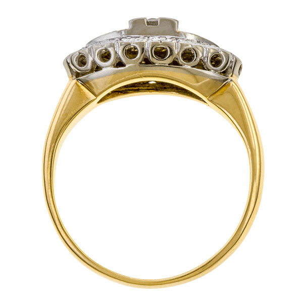 Vintage Diamond Ring sold by Doyle and Doyle an antique and vintage jewelry boutique