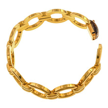 Vintage Gold Link Bracelet sold by Doyle and Doyle an antique and vintage jewelry boutique