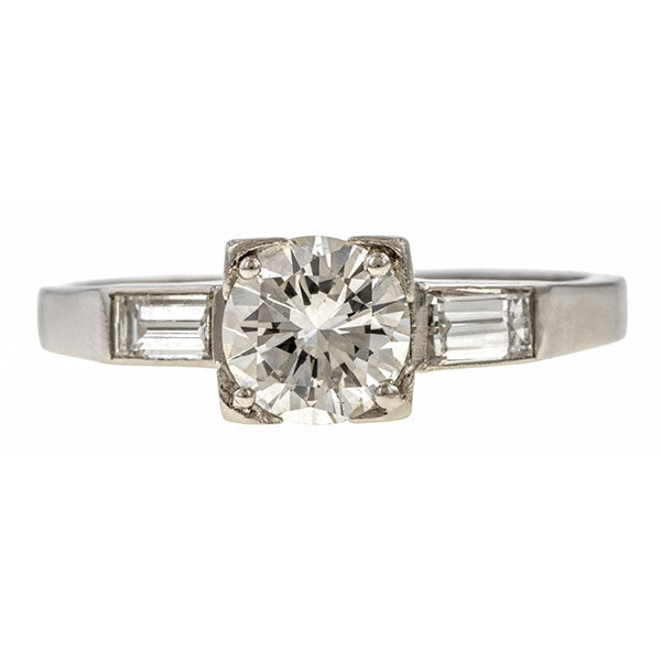 Vintage Diamond Engagement Ring, 0.70ct sold by Doyle and Doyle an antique and vintage jewelry boutique