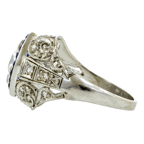 Art Deco Dinner Ring ::Doyle & Doyle
