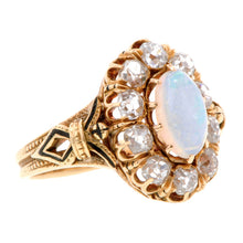 Victorian Opal & Diamond Ring:: Doyle & Doyle