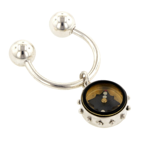 Compass Charm Necklace - Heirloom by Doyle & Doyle::