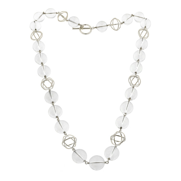 & Rock Crystal Necklace- Heirloom by Doyle & Doyle:: Doyle & Doyle