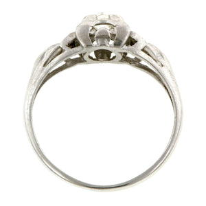 Vintage Engagement Ring, Old Euro 0.21ct:: Doyle & Doyle