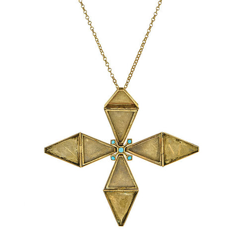 Victorian Maltese Cross Pendant/Locket:: Doyle & Doyle