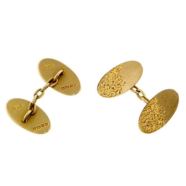 Antique Double Sided Cufflinks