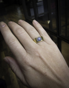 Vintage Star Sapphire Ring:: Doyle & Doyle