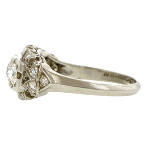Vintage Three Stone Diamond Ring:: Doyle & Doyle