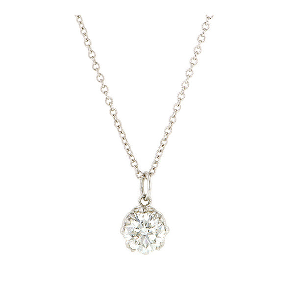 Fancy Basket Diamond .50ct Pendant- Heirloom by Doyle & Doyle