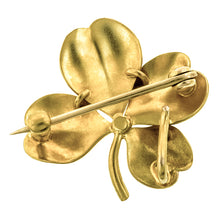 Antique Pearl Clover Pin:: Doyle & Doyle