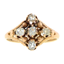 Victorian Diamond Cluster Ring:: Doyle & Doyle