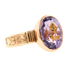 Victorian Amethyst & Rose Cut Ring:: Doyle & Doyle