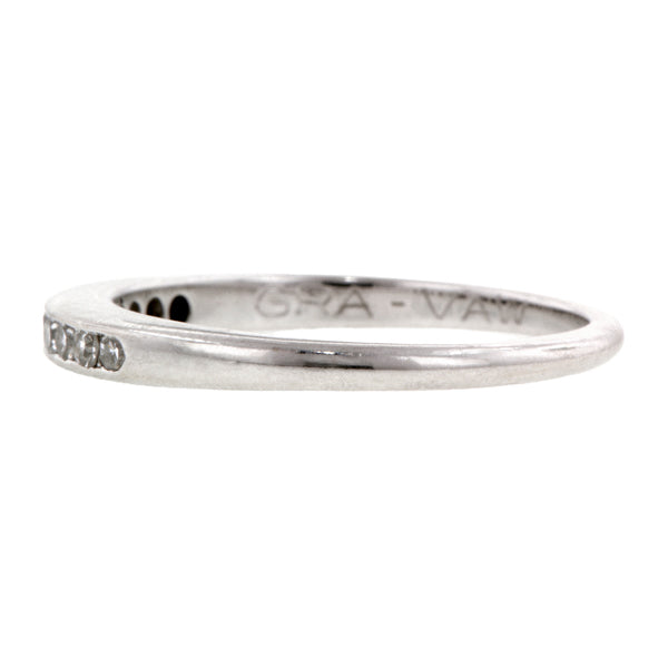 Estate Diamond Wedding Band