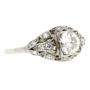 Art Deco Engagement Ring, Old Euro 0.60ct :: Doyle & Doyle