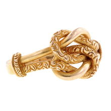 Victorian Double Love Knot Ring::Doyle & Doyle
