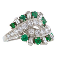 Vintage Tiffany & Co Emerald & Diamond Ring:: Doyle & Doyle