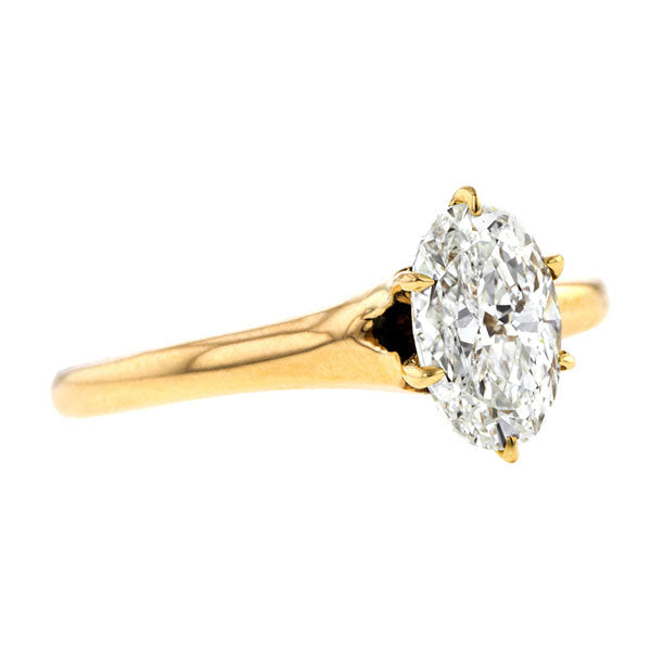 Vintage Engagement Ring, Oval 1.02ct:: Doyle & Doyle