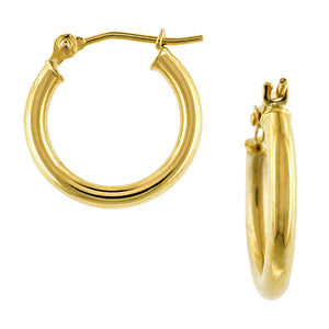 Gold Hoop Earrings sold by Doyle & Doyle