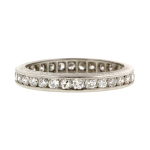 Art Deco Eternity Band Doyle & Doyle