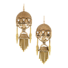 Victorian Pearl, Enamel*, Fringe Earrings Doyle & Doyle